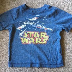 Star Wars T-shirt.
